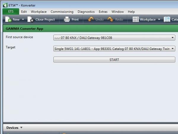 GAMMA Converter App by Siemens