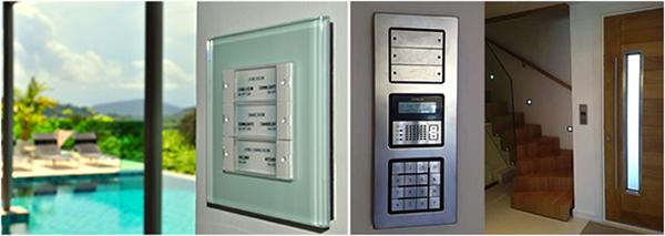 Examples of elegant keypads.