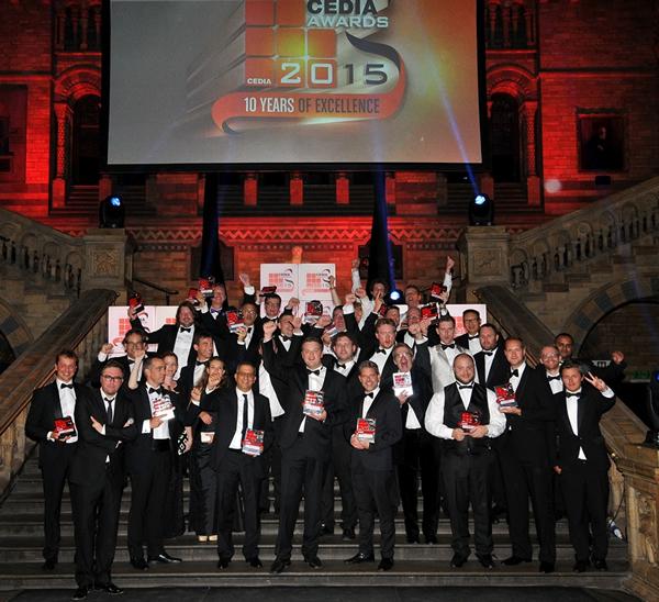 CEDIA 2015 Awards Winners