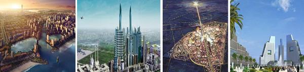 Saudi Arabia plans the launch of 'economic cities'.