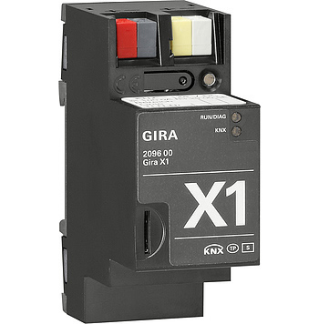 The Gira X1 has an embedded OpenVPN server.