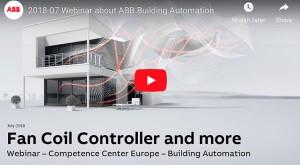 ABB FanCoil Controller and more Webinar